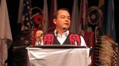 Le chef national de l'Assemblée des Premières Nations, Shawn Atleo.