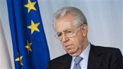 Le président du Conseil des ministres italien, Mario Monti