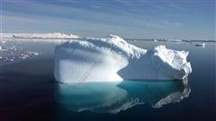 Un iceberg