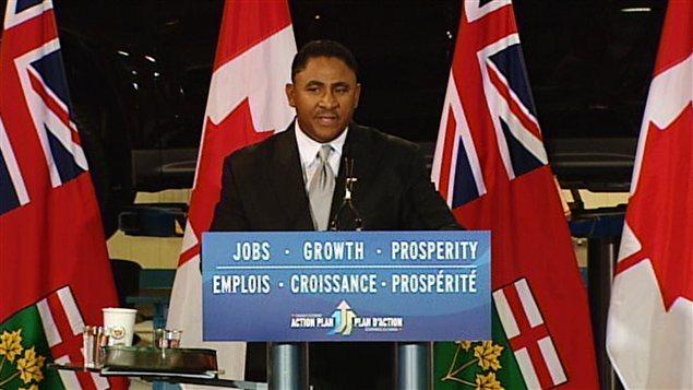 Le président de GM Canada, Kevin Williams, à Oshawa, le 24 juillet.