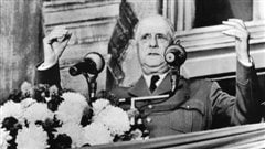Le général de Gaulle lance son Vive le Québec libre, le 24 juillet 1967