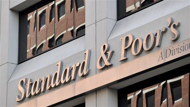 Le siège de l'agence de notation financière, à New York.