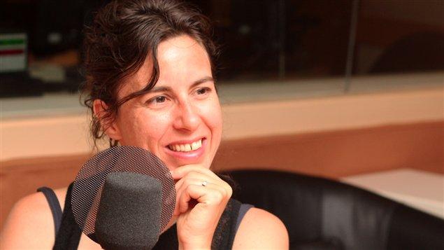 Noémie Lafrance  ©Radio-Canada/Marie-Sandrine Auger