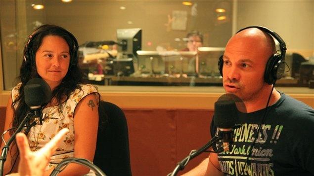 © Radio-Canada / Etienne Côté | Geneviève Néron et Maxime Martin