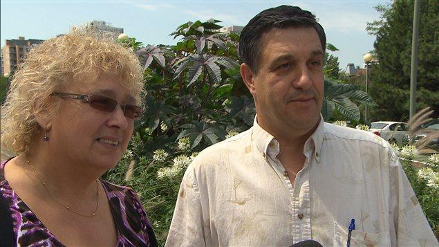 José Pereira et sa femme