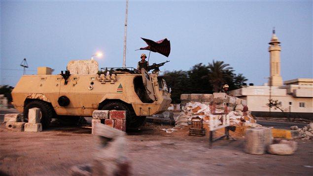 L'armée a renforcé sa présence dans le Sinaï