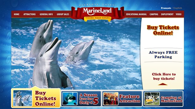 Le parc marin Marineland est une attraction touristique majeure en Ontario.