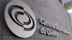 Le logo de la Caisse de dépôt et placement du Québec.