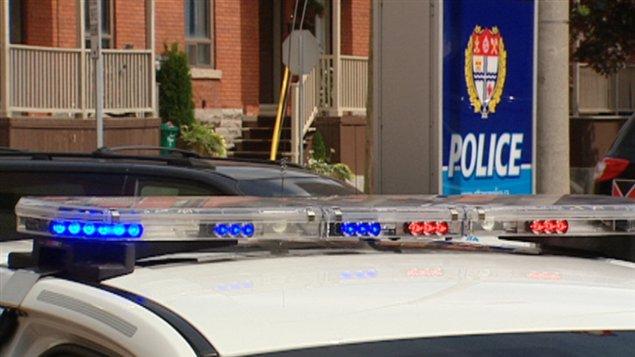 Un véhicule de la police d'Ottawa (archives).