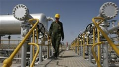 Installation pétrolière au sud-ouest de Téhéran