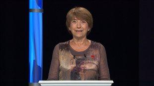 La porte-parole de Québec solidaire, Françoise David