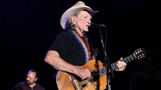 Le chanteur country Willie Nelson