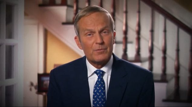 Le reprsentant rpublicain Todd Akin dans une vido o il demande  ses lecteurs de lui pardonner son mauvais choix de mots, diffuse le 21 aot 2012