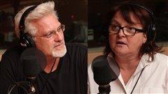 Jean Barbe et Lise Ravary  ©Radio-Canada/Marie-Sandrine Auger