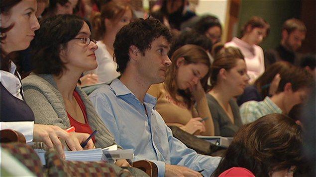 Environ 500 jeunes participent � l'�v�nement de cette fin de semaine � l'Universit� Laval