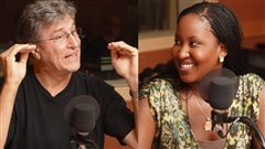 Mario Masson et Khady Beye  Radio-Canada/Marie-Sandrine Auger
