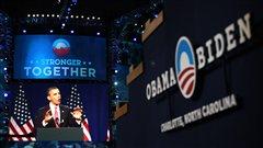 Préparation de la convention démocrate à Charlotte