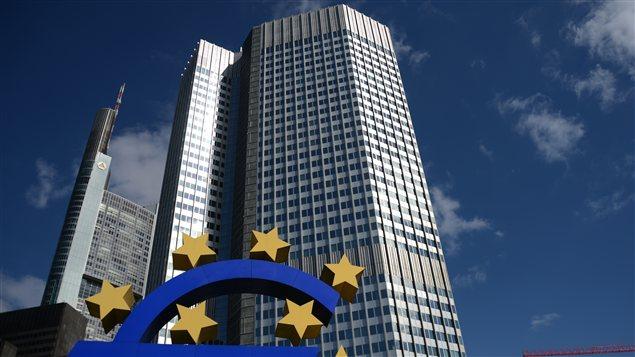 Les bureaux de la BCE à Francfort, en Allemagne