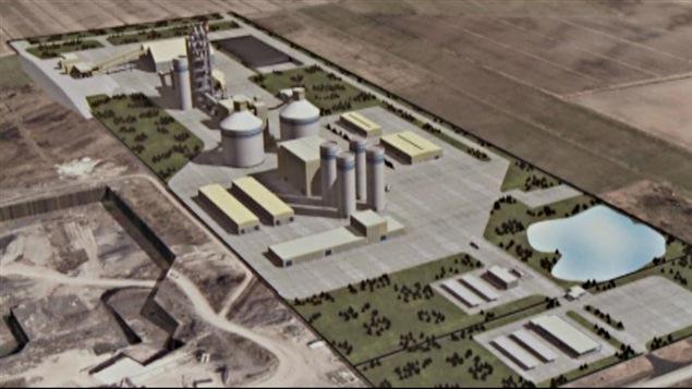 Colacem Canada veut construire une cimenterie à L'Orignal.