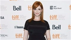 Christina Hendricks � la premi�re de Ginger and Rosa