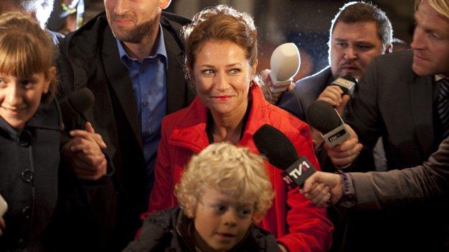 Image tirée de la série télé danoise Borgen une femme au pouvoir