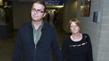 Michel Dumont et sa femme Solange Tremblay