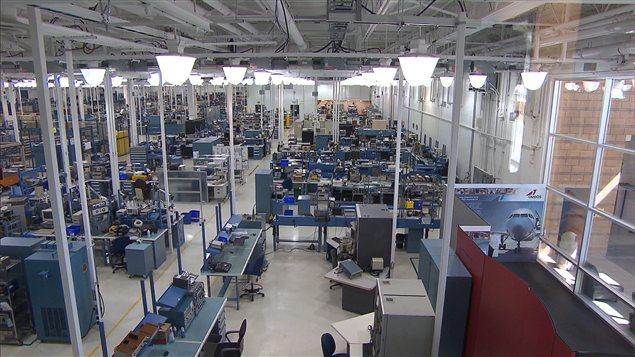 L'usine d'Aveos