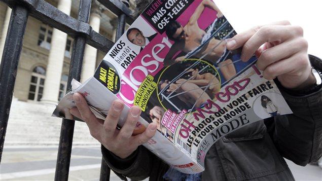 Le magazine Closer
