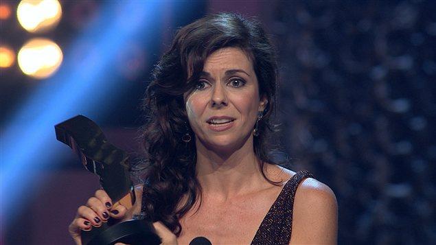 Myriam LeBlanc remporte le prix du meilleur premier rôle féminin dans une dramatique pour «Apparences».
