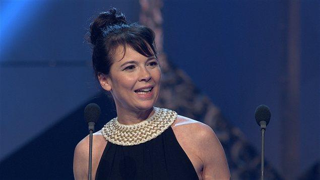 Anne Dorval a remporté le prix du meilleur premier rôle féminin dans une comédie pour son rôle dans «Les Parent».