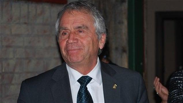 Le vice-premier ministre, François Gendron