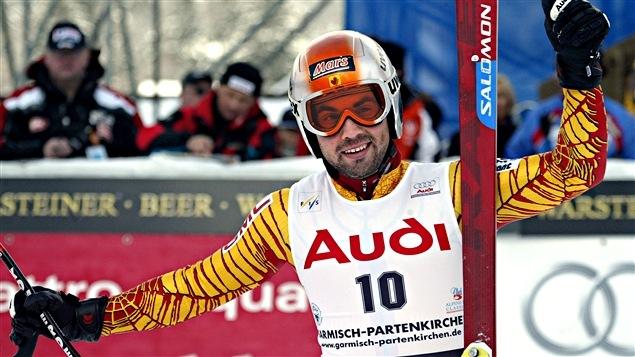 François Bourque à Garmisch en 2005