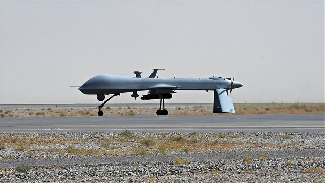 Un drone amricain,  Kandahar (archives)