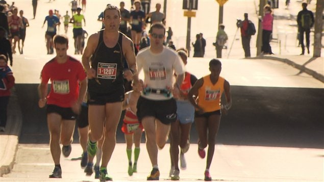 This year's Montreal Marathon had 27,000 participants across five race distances.