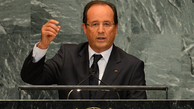 Franois Hollande  l'ONU