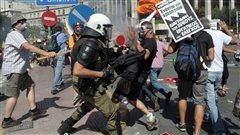 Manifestation à Athènes contre l'austérité