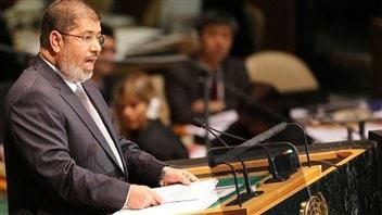 Le président égyptien Mohamed Morsi (archives)