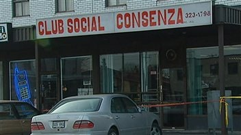 La faade du club social Consenza