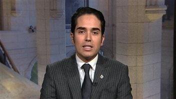 Le député de Manicouagan, Jonathan Genest-Jourdain