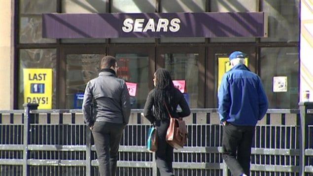 Le magasin Sears du Centre Rideau ferme officiellement ses portes après 12 ans d'activité.