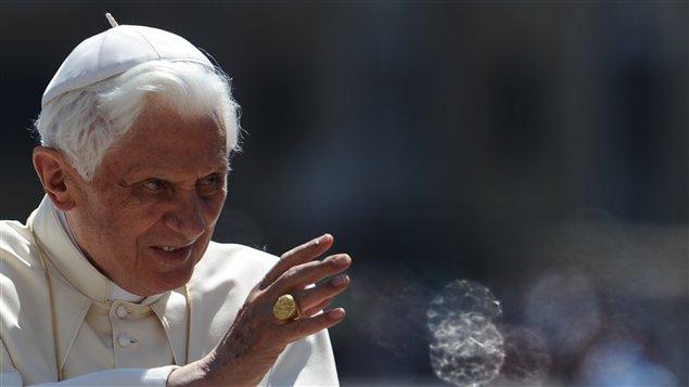 Le pape Benoit XVI au Vatican en mai 2011.