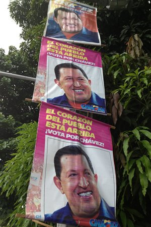 Affiches d'Hugo Chavez