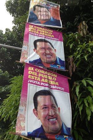 Affiches d'Hugo Chavez
