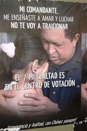 Affiche d'Hugo Chavez