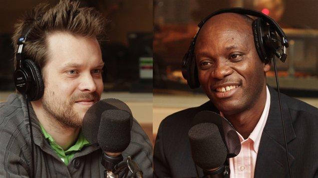 Pierre-Alexandre Richard et Michel Nyabenda ©Radio-Canada/Marie-Sandrine Auger