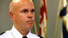 Jean-Michel Blais, chef du service policier d'Halifax