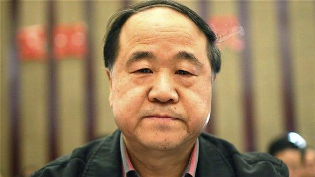 L'écrivain chinois Mo Yan, récipiendaire du prix Nobel de littérature 2012