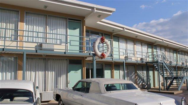 Le Lorraine Motel, où Martin Luther King a été assassiné en 1968