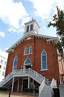 L'église où Martin Luther King a organisé la lutte pour les droits civils