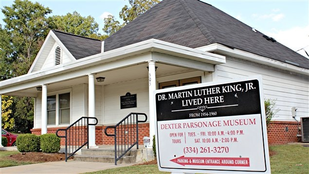 La maison où a vécu Martin Luther King.